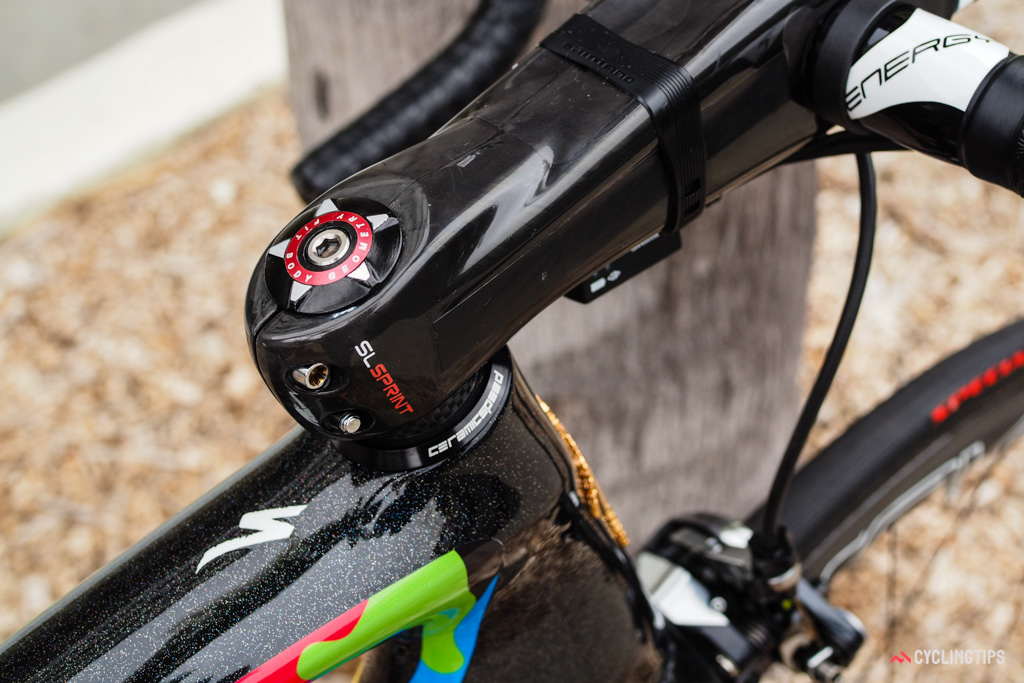 CeramicSpeed even provides the headset.