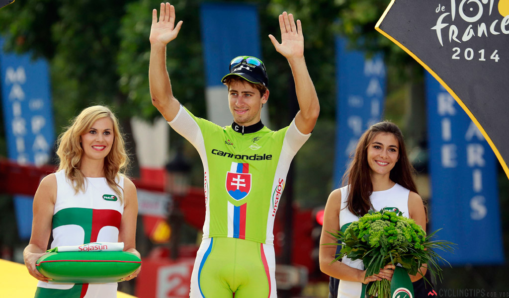 Peter Sagan is one of the top earners in the sport. Thrice a winner of the Tour's Green Jersey, he is expected to challenge for big Classic wins next season.