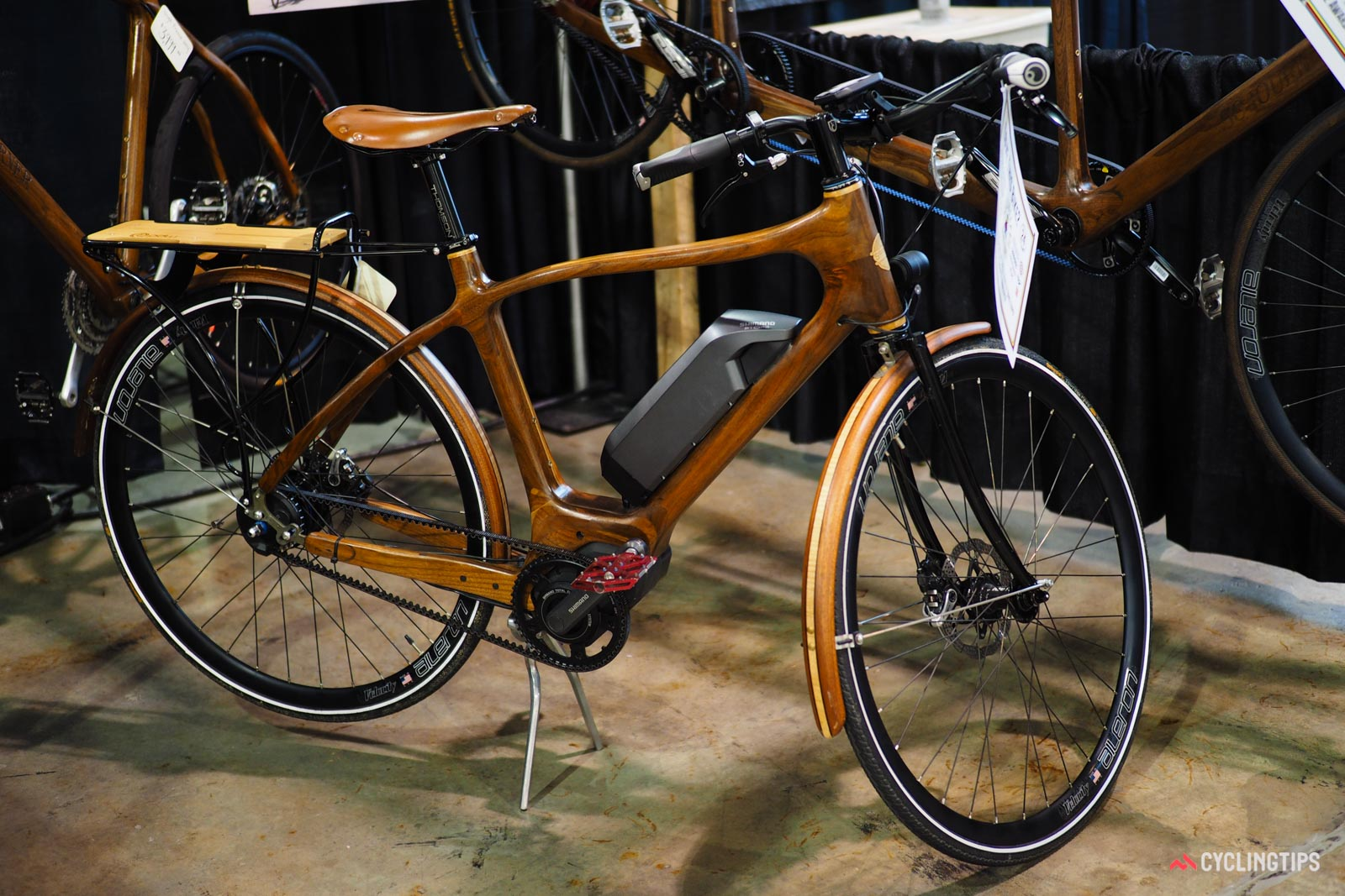 Sojourner Cyclery wooden bike