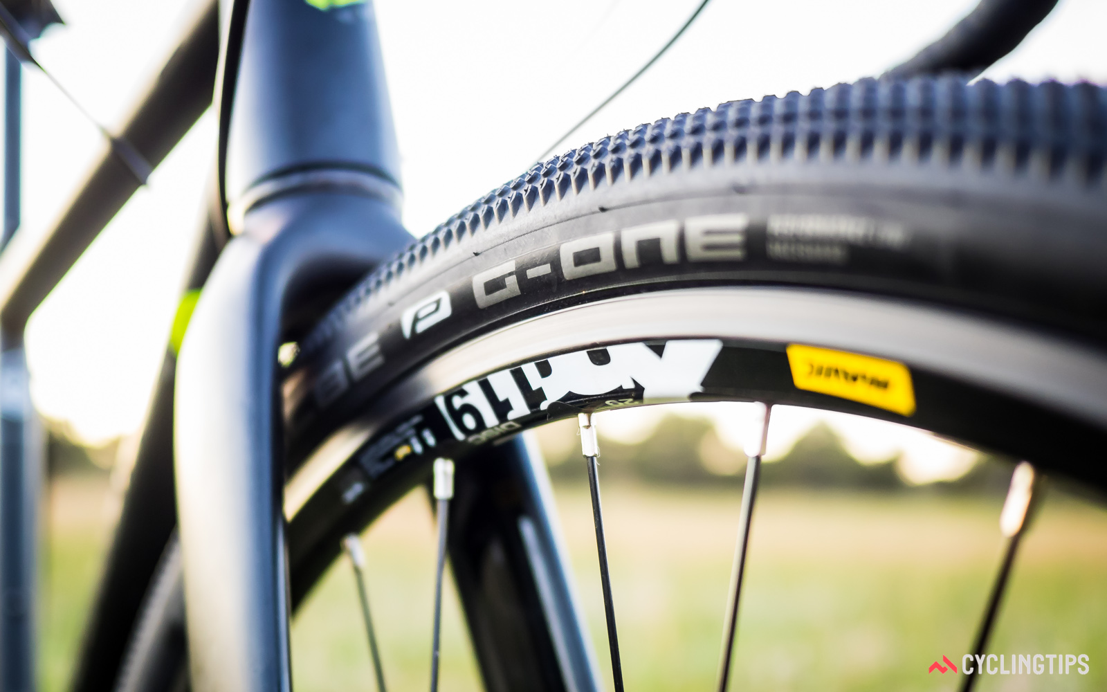 Shwalbe's G-One tyres excel in dry and dusty conditions, plus they roll easily on paved surfaces.