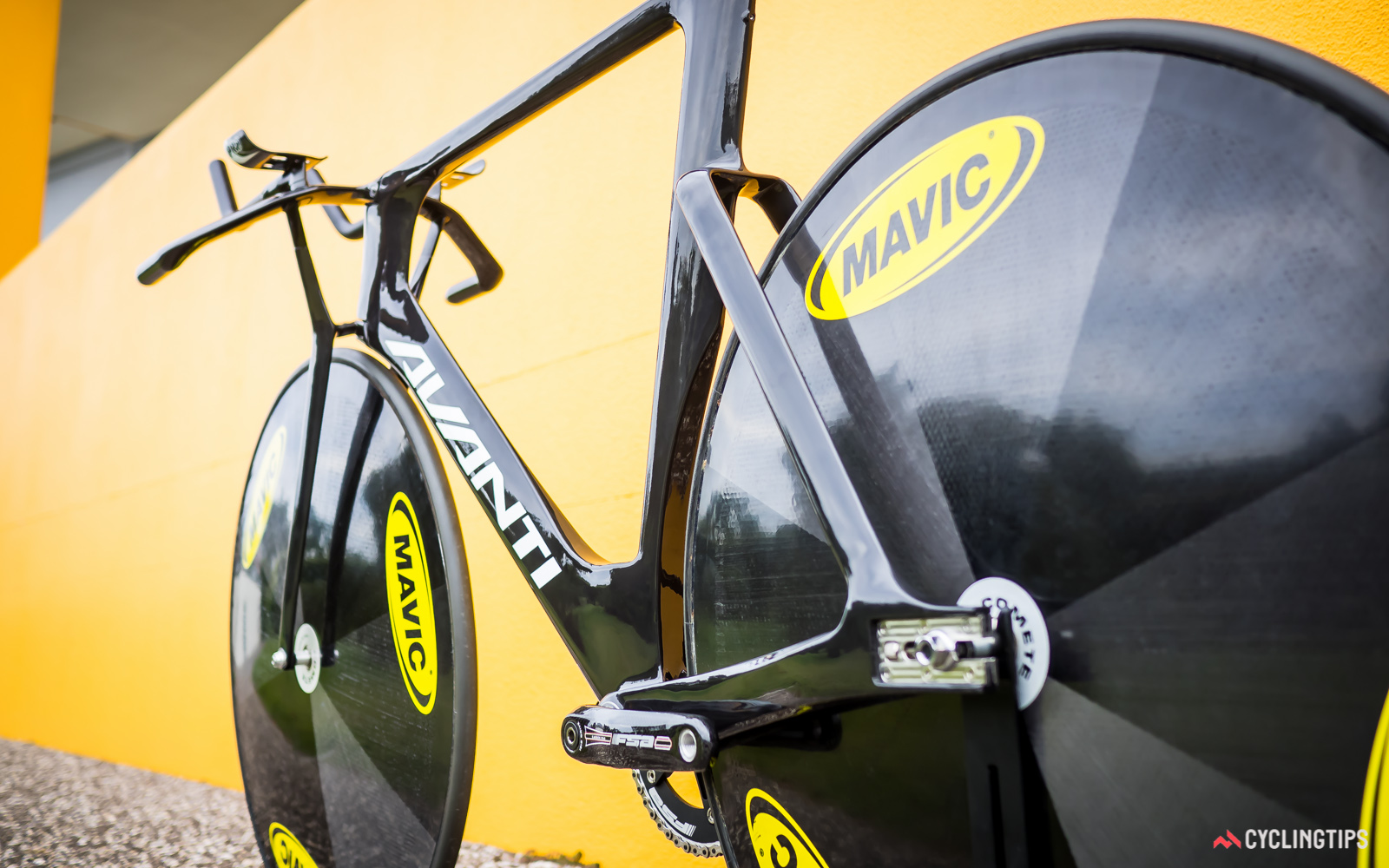While Cycling New Zealand is keeping Avanti's new sprint bike under wraps, the pursuit bike is ready to be shared.