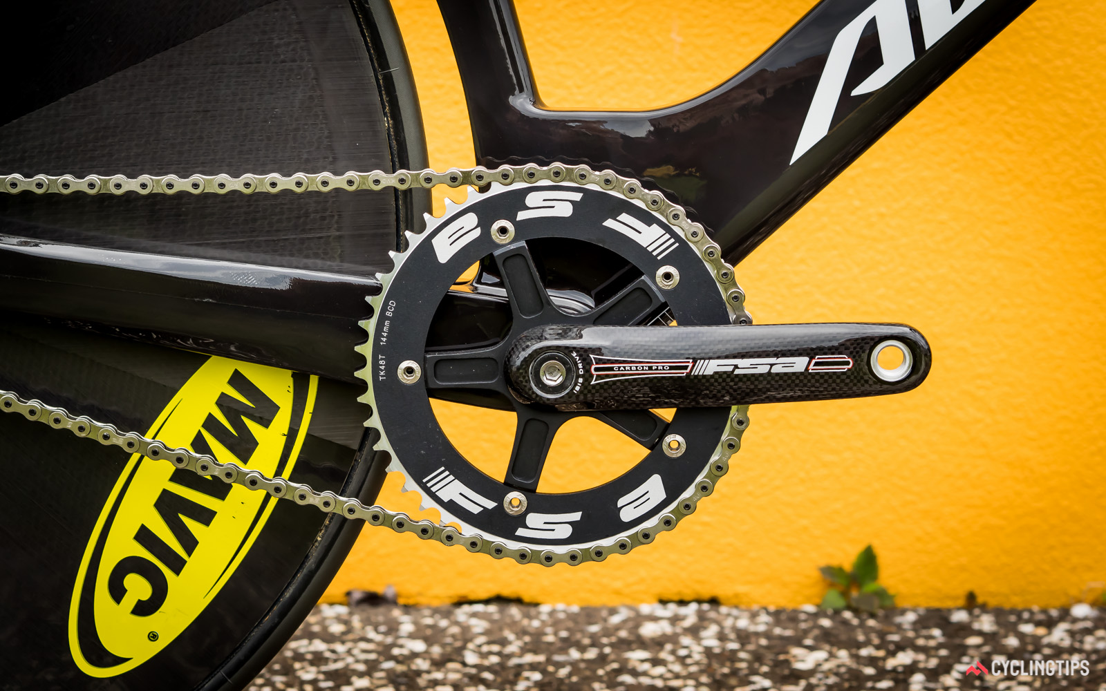 There's no word on what kind of cranks the New Zealand pursuit riders will be using at Rio.