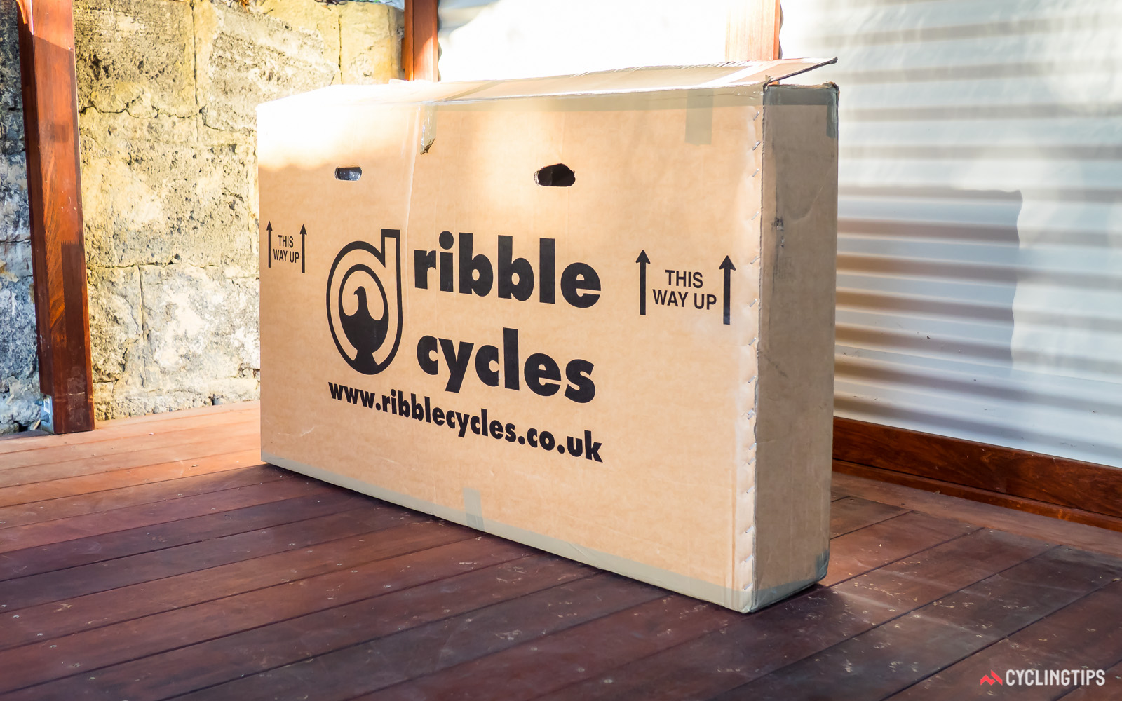 This is what buyers can expect to arrive at their door when they buy a bike from Ribble Cycles.