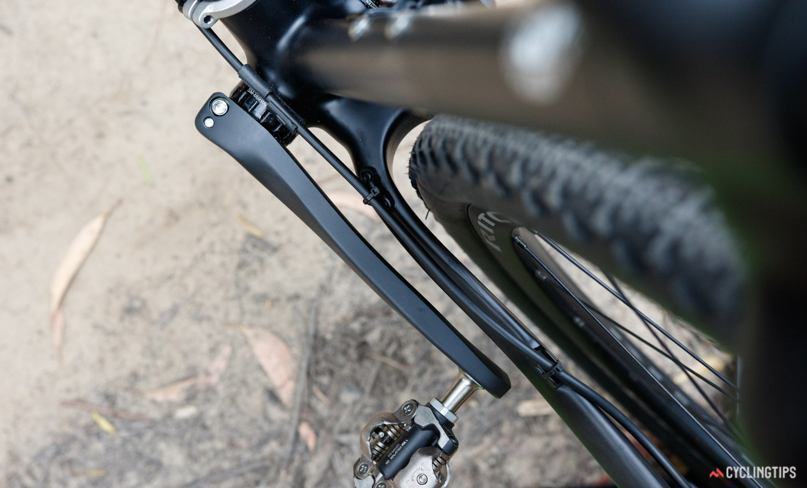 Ritchey Outback Carbon Break-Away frameset tyre clearance