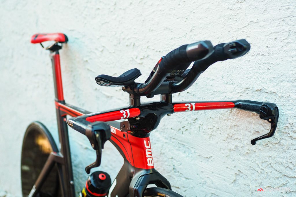 3T makes custom base bar and stem assemblies just to fit the BMC timemachine TM01.