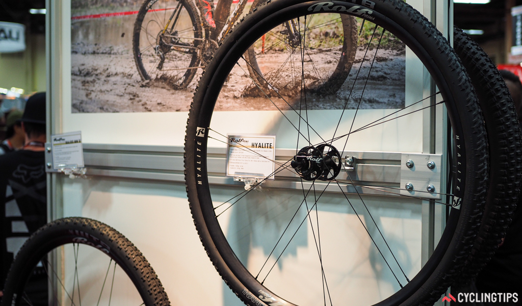 Rolf Prima actually rolls its own rims in-house, and laces them to custom US-made hubs from White Industries.