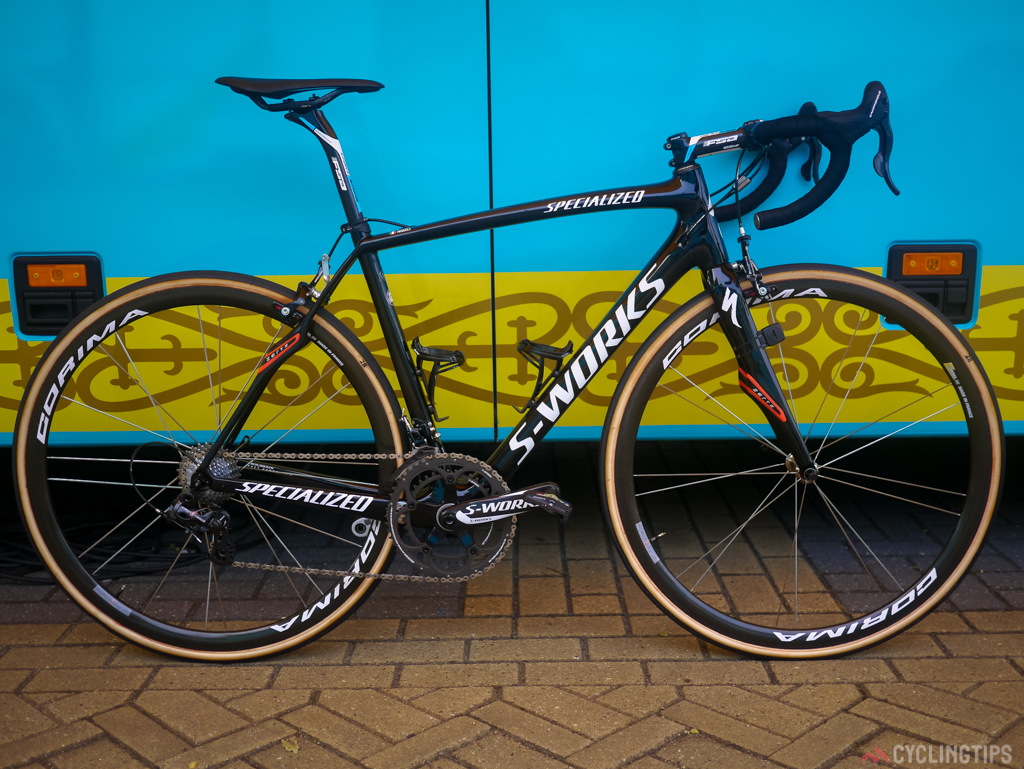 Nibali will again contest the cobbles of stage four on a Specialized Roubaix.