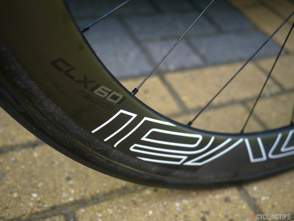 Tinkoff-Saxo swapped last year after the Dauphaine from Zipps to Specialized in house wheel brand Roval, Sagan's Venge iuses the Roval CLX60 Rapide set,  a deep section wheel at a claimed 1300g a pair weight.