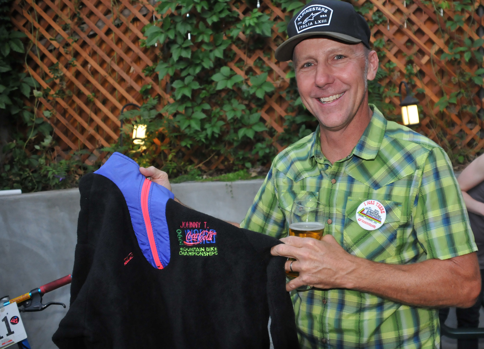 John Tomac, at a September 2015 dinner event celebrating the 25th anniversary of the 1990 world mountain-bike championships in Durango, Colorado. Photo by Tom Moran.