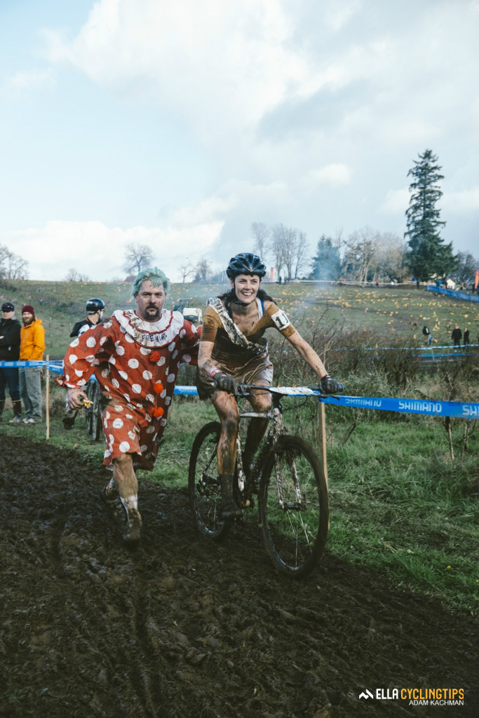 Getting a push through the Hodala corner was welcomed by most riders