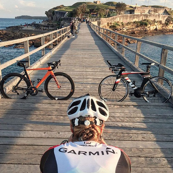 """""""I ride to catch up with my mates, spend some quality time in the sun and take lots of pics of my bike"""" - Charli"""