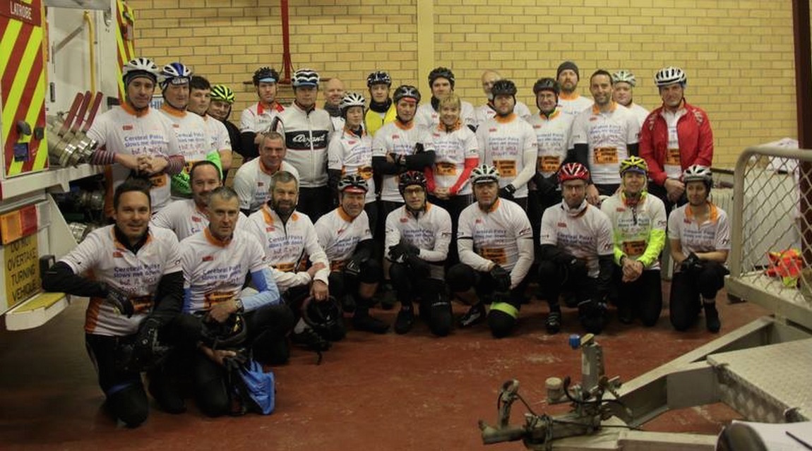 """""""Riding with my mates whilst raising money for those less fortunate."""" - Mark Astell"""