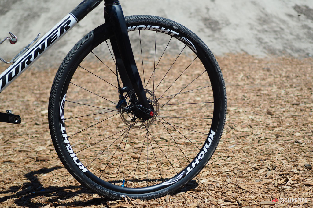 """Knight Composites is diving into the burgeoning gravel market with a new set of carbon clinchers. The aptly named 29"""" Gravel features a 22.5mm internal rim width, tubeless compatibility, and a claimed rim weight of just 355g."""