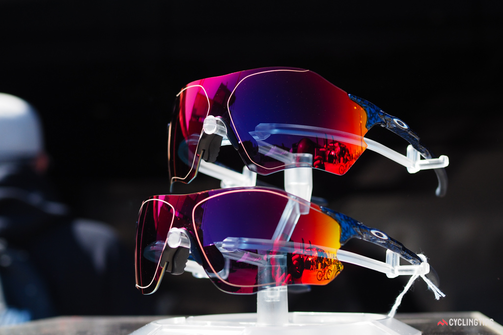 Oakley says the new EVZero are the lightest in the range - and certainly reminiscent of models Oakley offered two decades ago.