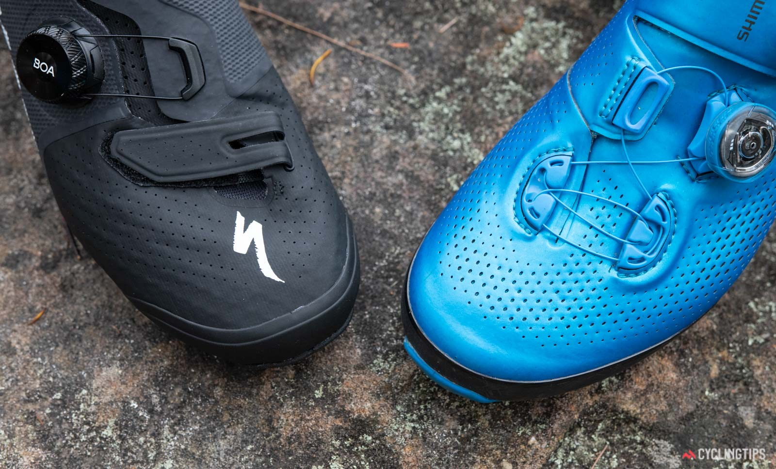 Shimano S-Phyre XC9 vs Specialized S-Works Recon SPD shoes