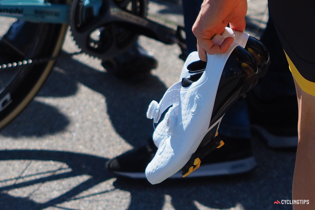 Given how finished these shoes look, we're guessing Shimano will officially announce them soon.