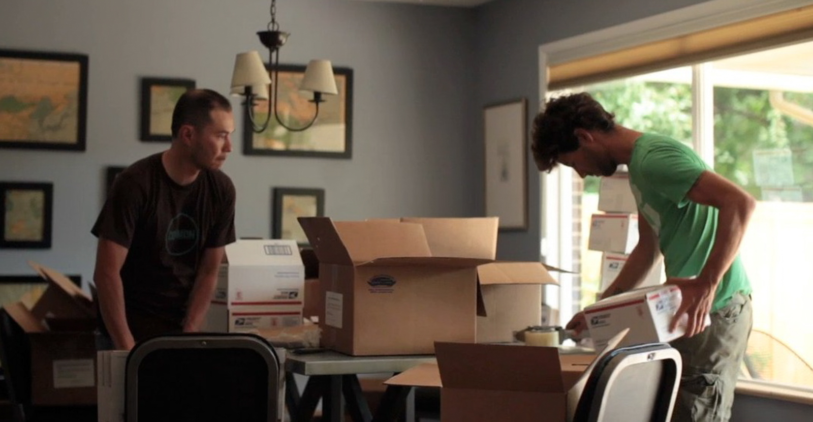 In 2011, Secret Drink Mix orders were picked and packed in Aaron Foster's living room. Photo: Jamie Kripke.