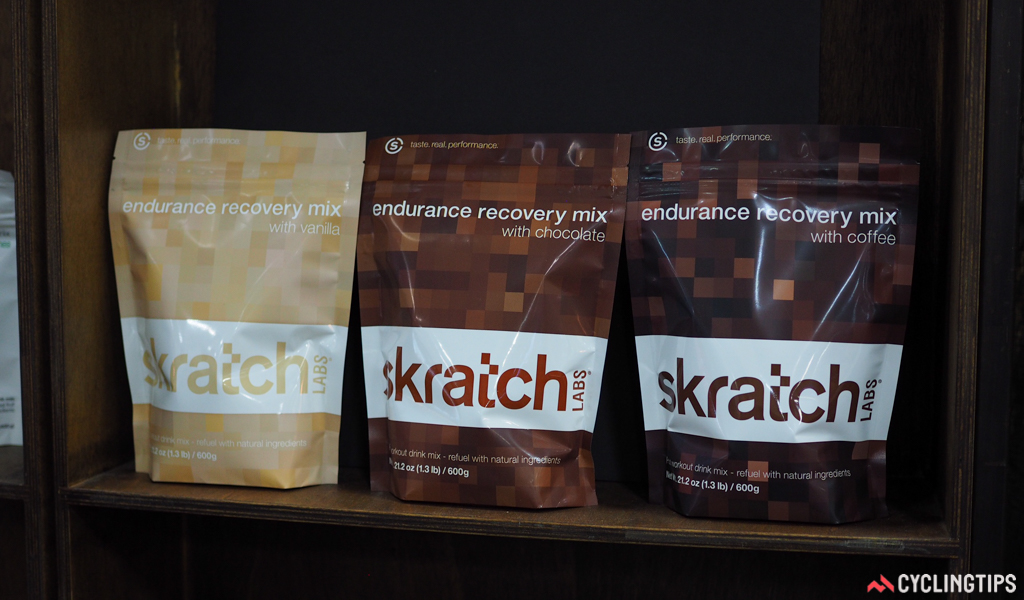 Skratch Labs adds three new recovery drinks to its mix of exercise and hydration nutrition products.