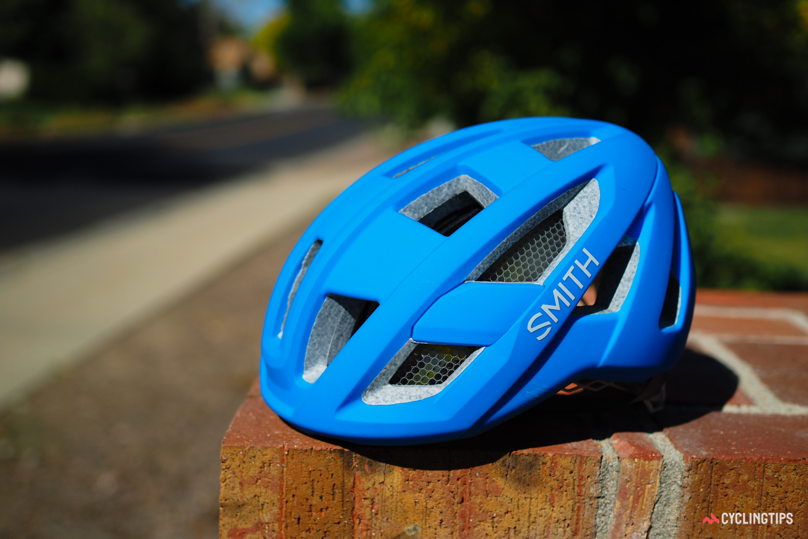Smith Optics has followed up on its first two Koroyd-equipped helmets with two lower-priced options. The road-oriented Route uses smaller panels of Koroyd that are placed strategically where Smith says riders are most likely to hit their heads.