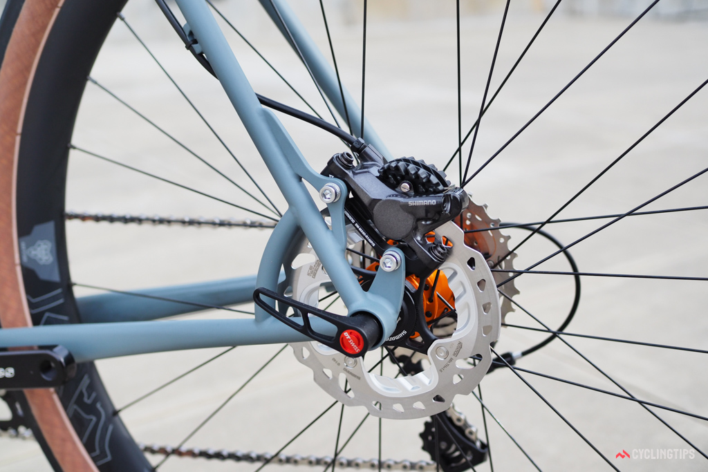 Disc brakes are long been popular among the handbuilt crowd.