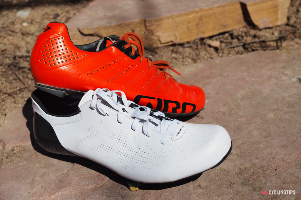 Giro can be credited for bringing laces back into the forefront of high-end road shoe design and while the Specialized S-Works Sub6 and Giro Empire SLX share some traits, they feel very different.