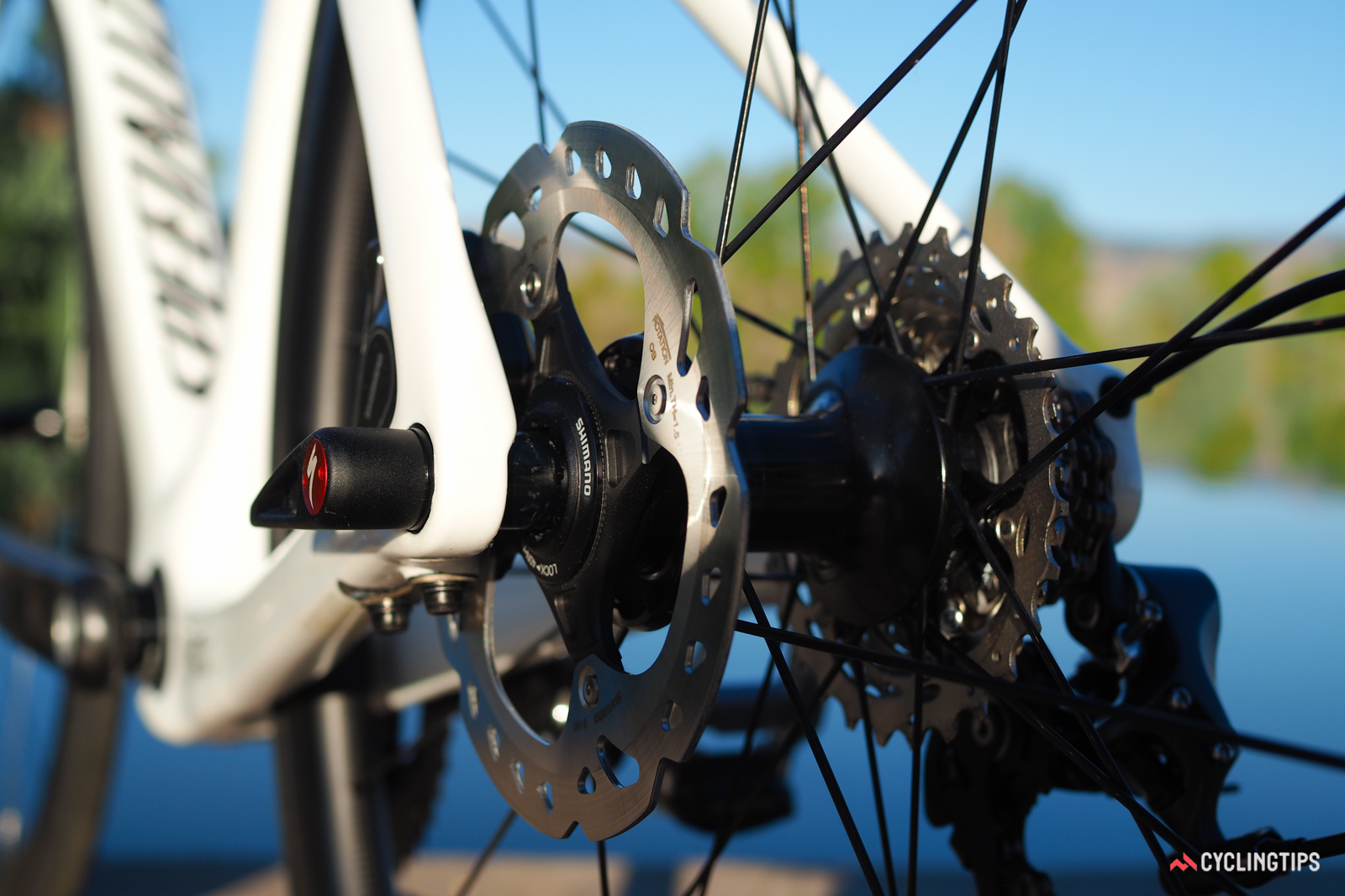 No, the problem supposedly isn't the caliper; it's the rotor and rotor interface that are more aerodynamically challenging.