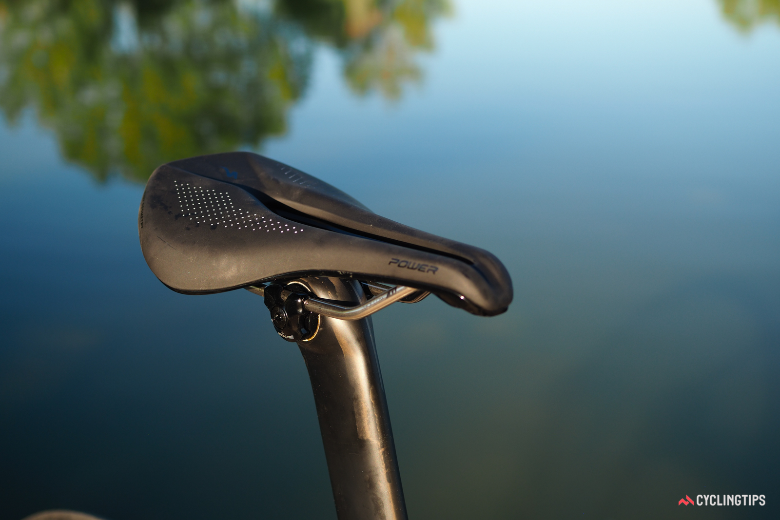 The Specialized Power saddle design looks strange with its stubby nose but it works remarkably well.