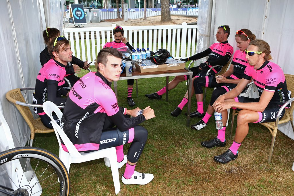 The St. George-Merida riders were hard to miss at Cadel's Race and the Sun Tour this year.
