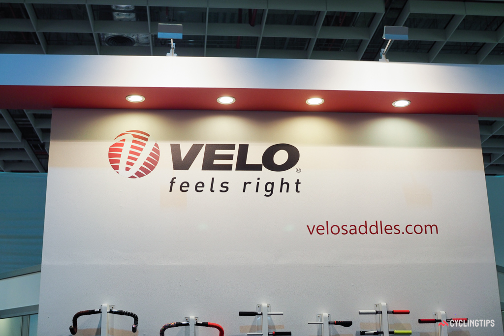 Velo's 'Feels Right' logo seems apt for a number of reasons. The company's aim is to produce saddles that physically feel right to sit on, but company head Stella Yu also ensures that brands feel right in working with Velo, too.