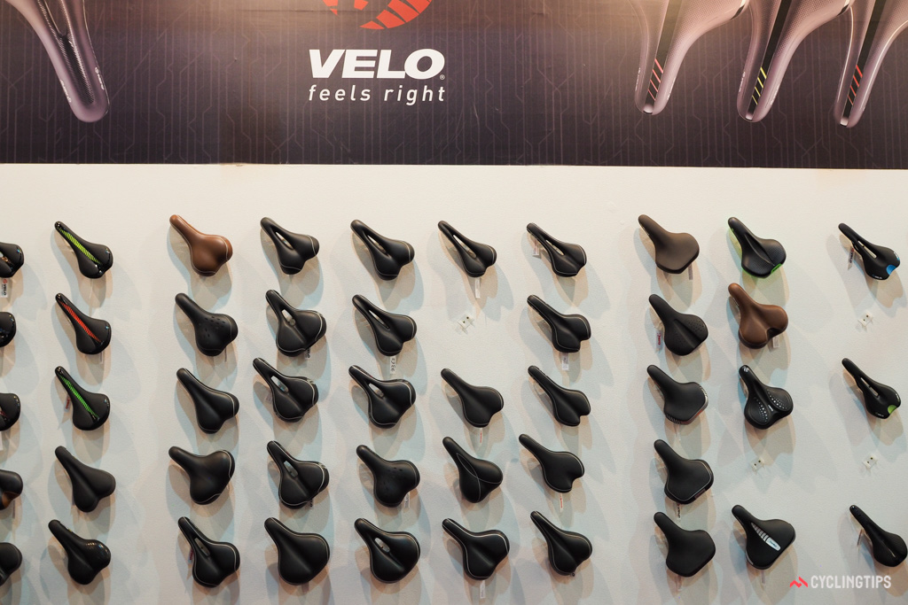 To say that Velo makes a wide range of saddle shapes, styles, and colors would be a gross understatement.