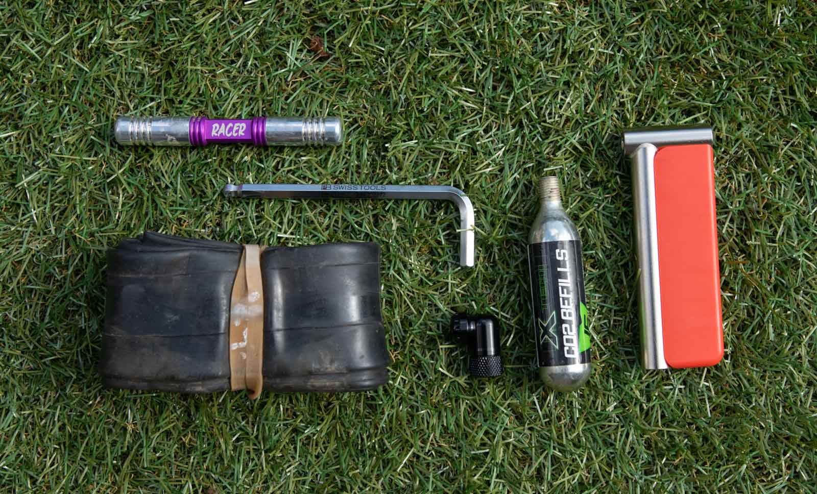 What we carry on rides - David Rome MTB Spares