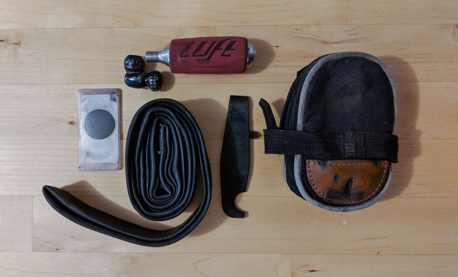 What we carry on rides - Iain Treloar's road kit