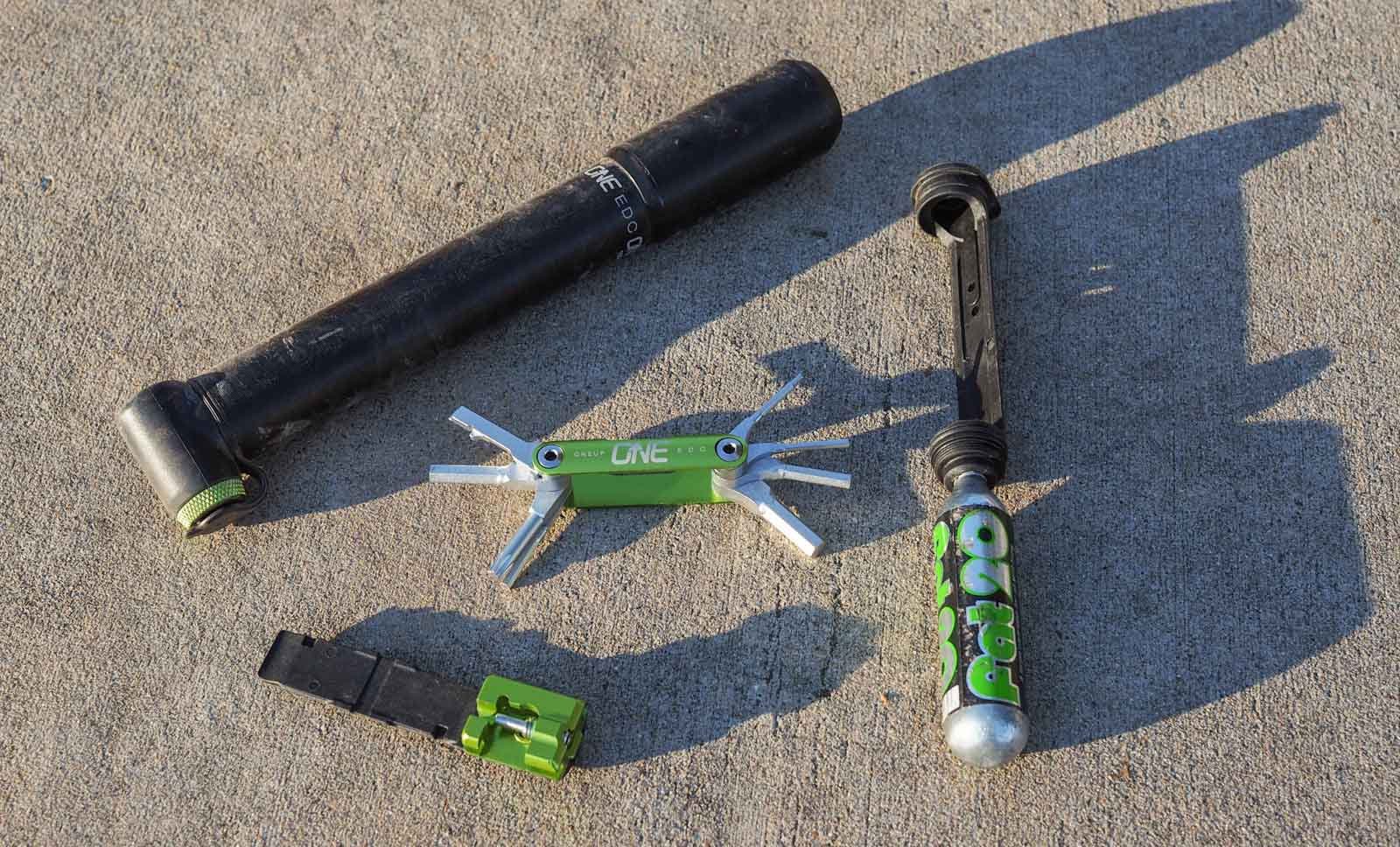 What we carry on rides - James Huangs' MTB kit