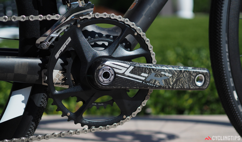 """VR bikes will use the new """"sub-compact"""" 46/30T chainring sizes"""