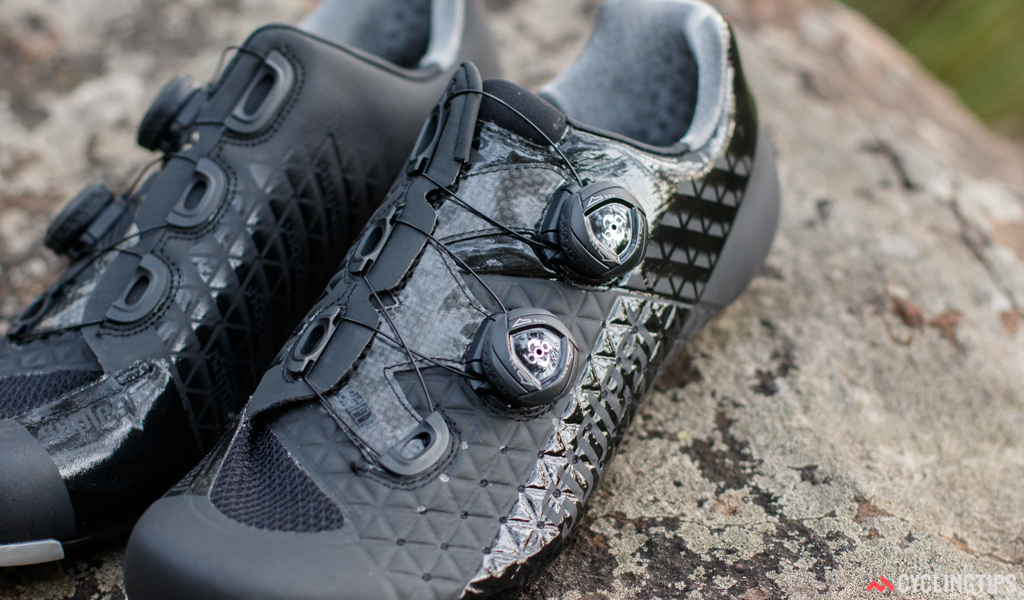 Boa IP1 dials are certainly the most popular retention choice amognst premium shoes. They're hard to fault.