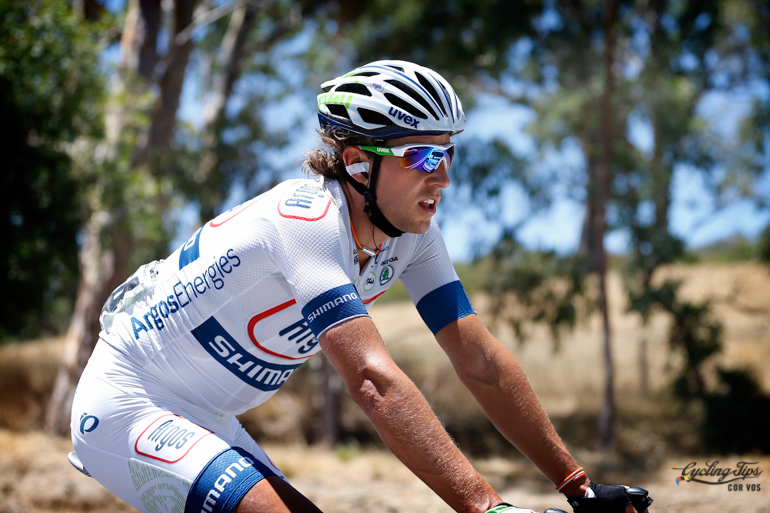 Koen during the 2013 Tour Down Under on adopted-home soil.