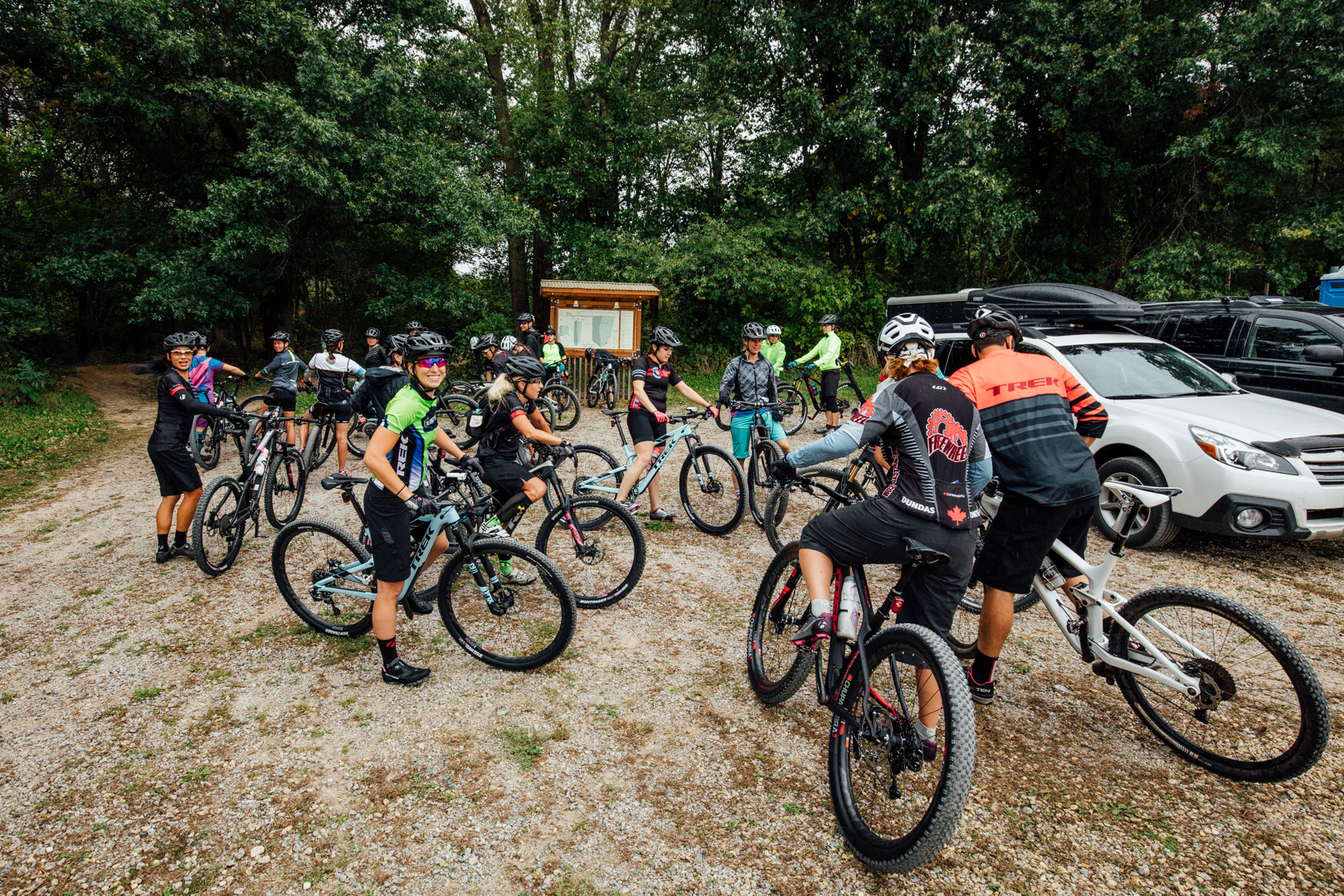 With safety a major concern, Trek, too, is recognising a shift away from road and toward dirt.