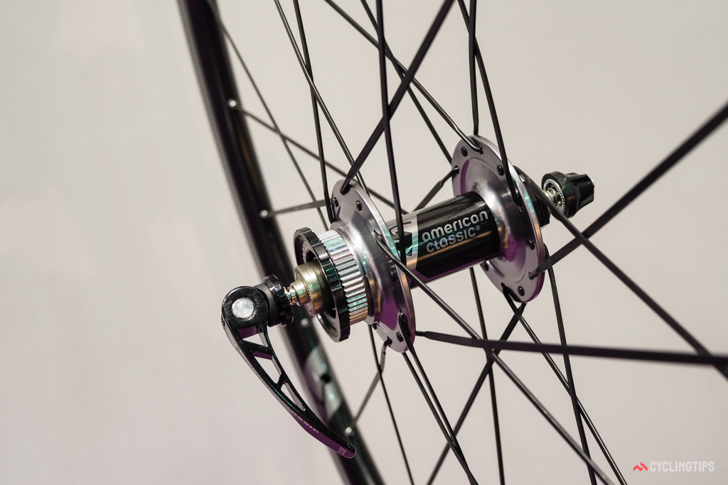 American Classic has moved to Center Lock rotor interfaces for its disc-compatible road wheels.