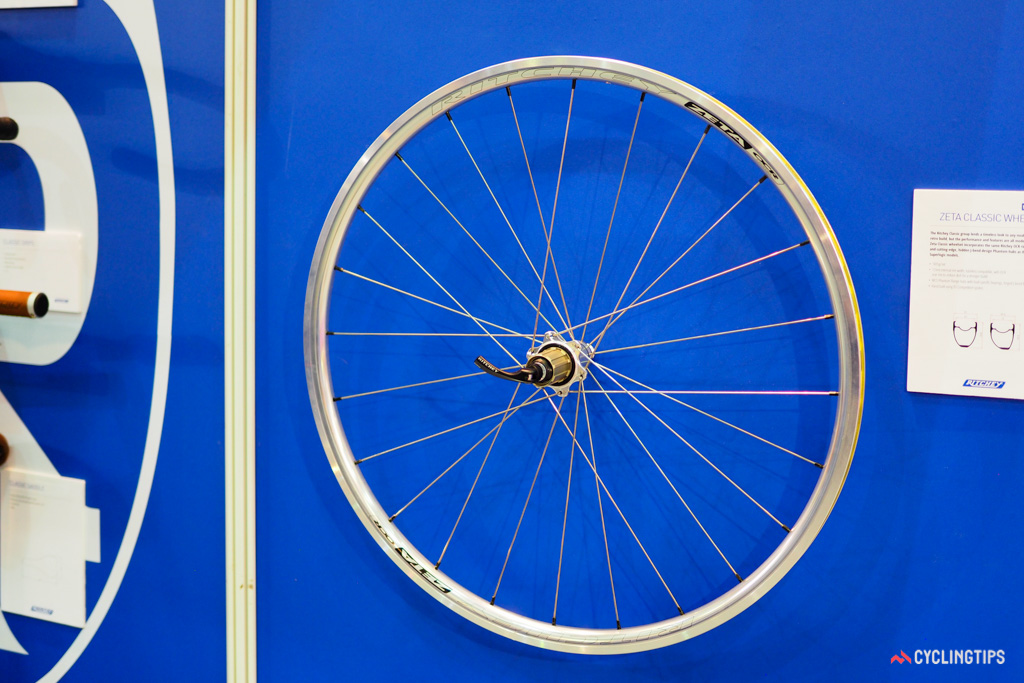 Prefer the classic look of polished silver? Ritchey comes to the rescue with the more traditional looking Zeta Classic wheelset.