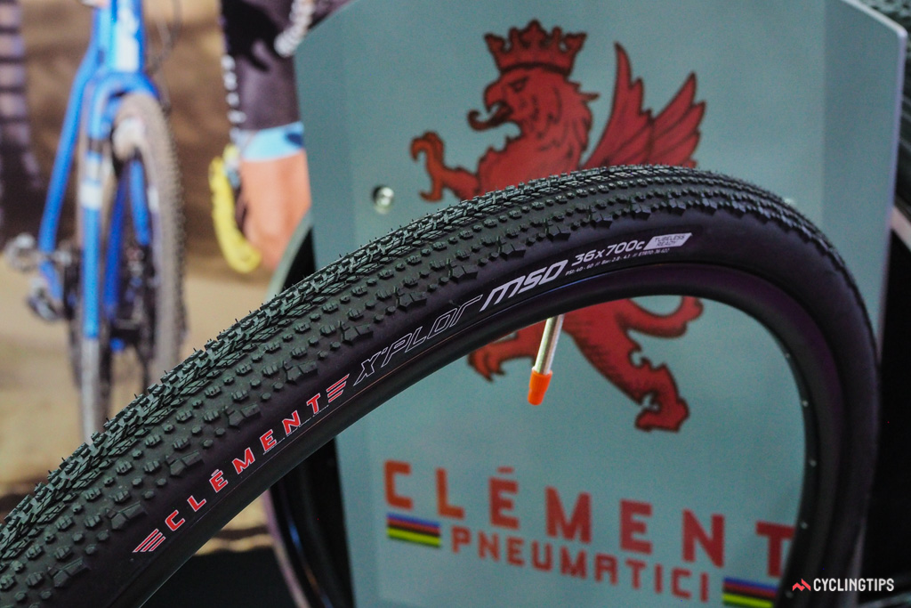 Clement only recently introduced its 36mm-wide X'Plor MSO tire for gravel riding but it's already planning on adapting it in a wider casing for 650b wheels.