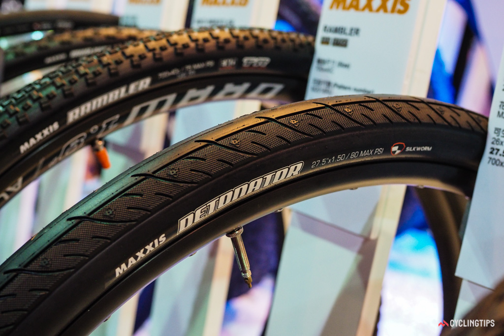 Maxxis doesn't technically refer to the Detonator as a 'Road Plus' tire but it's certainly the right size and sports a mostly smooth tread that's well suited to poor road surfaces.