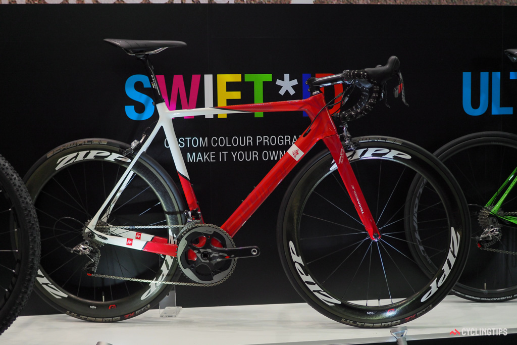 SwiftCarbon showed off in Taipei its new custom paint program, called Swift ID.