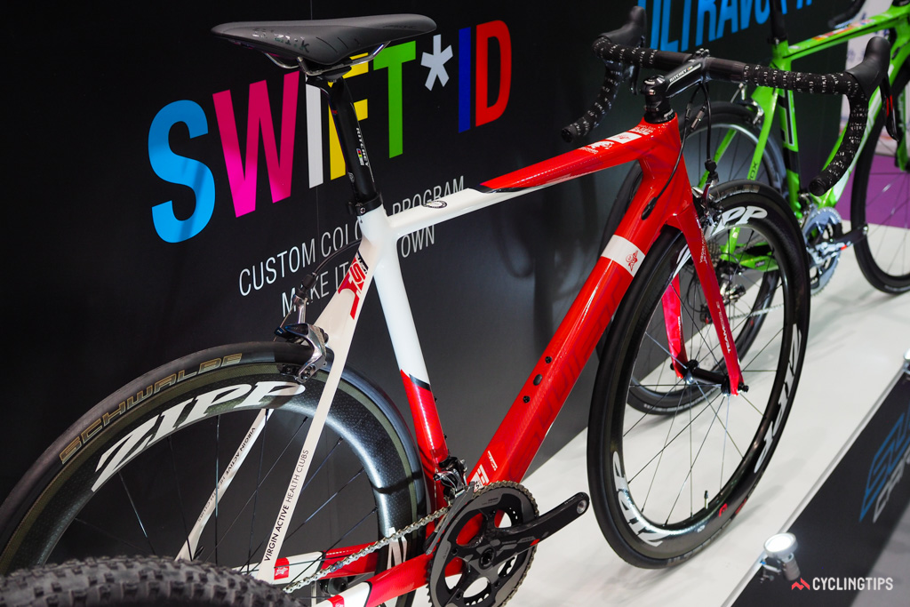 Exact details on SwiftCarbon's new custom paint program are still being finalised but it's expected to be quite flexible.