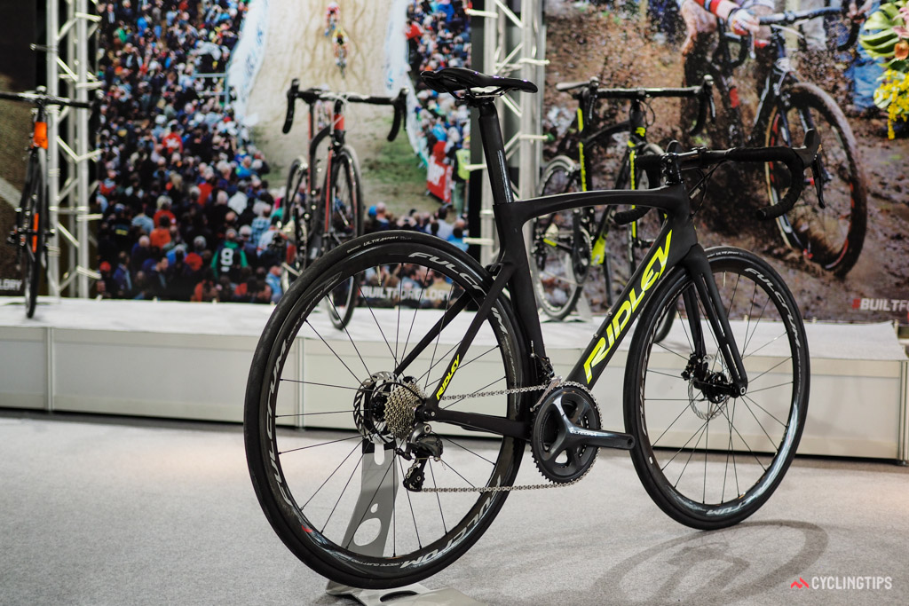 Ridley is certainly hoping this is the view most people get of its upcoming Noah SL Disc.