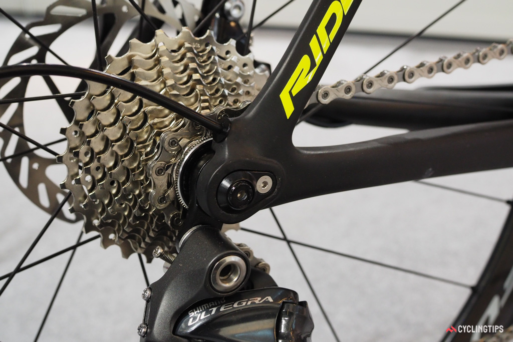 Ridley says the real impact of the new Noah SL Disc isn't going to be the disc brakes but rather how the new rear end allows for more flexibility in tuning the ride quality.