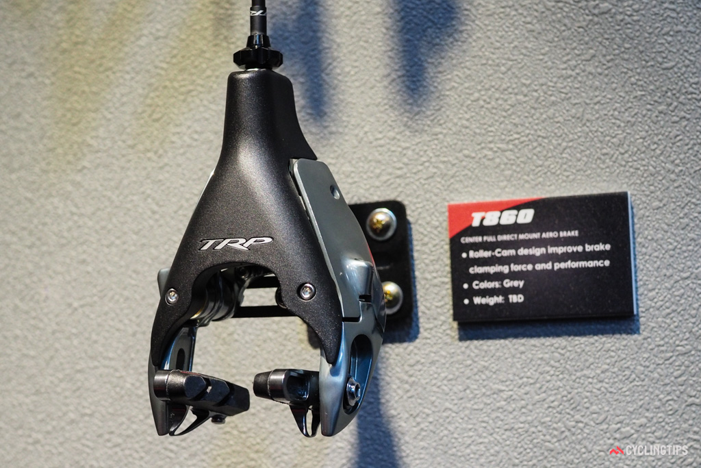 TRP is now diving headfirst into direct-mount rim brakes, highlighted with the new aero-focused T860/861 callipers.