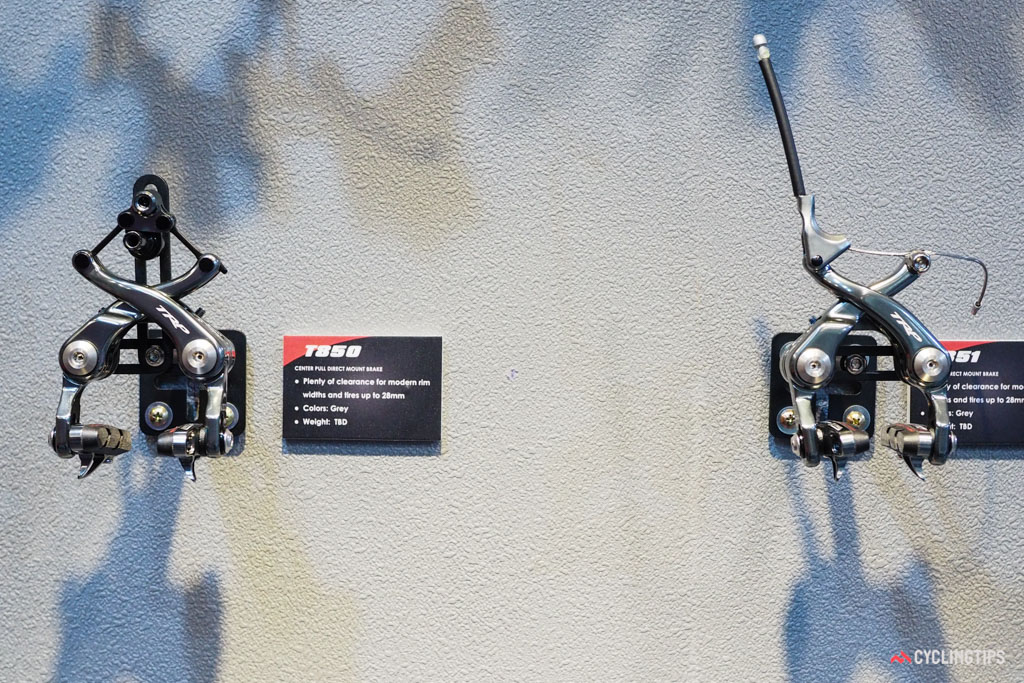 Also new from TRP are the lighter and simpler T850 and 851 direct-mount brakes.