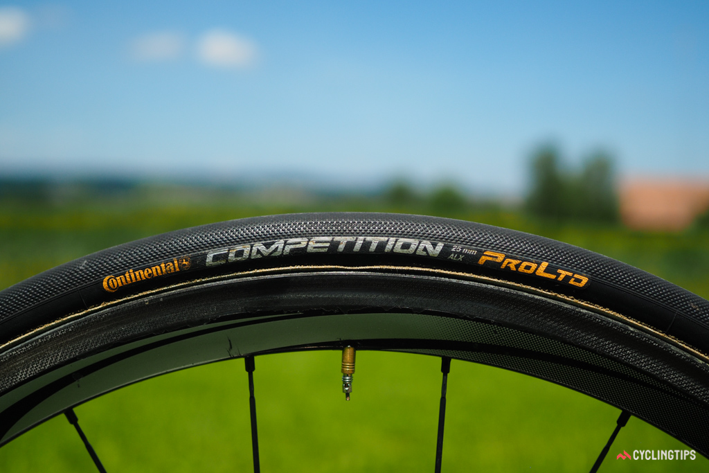 It almost seems like the entire pro peloton moved up to 25mm-wide tires all at once as they're now essentially standard across the board.