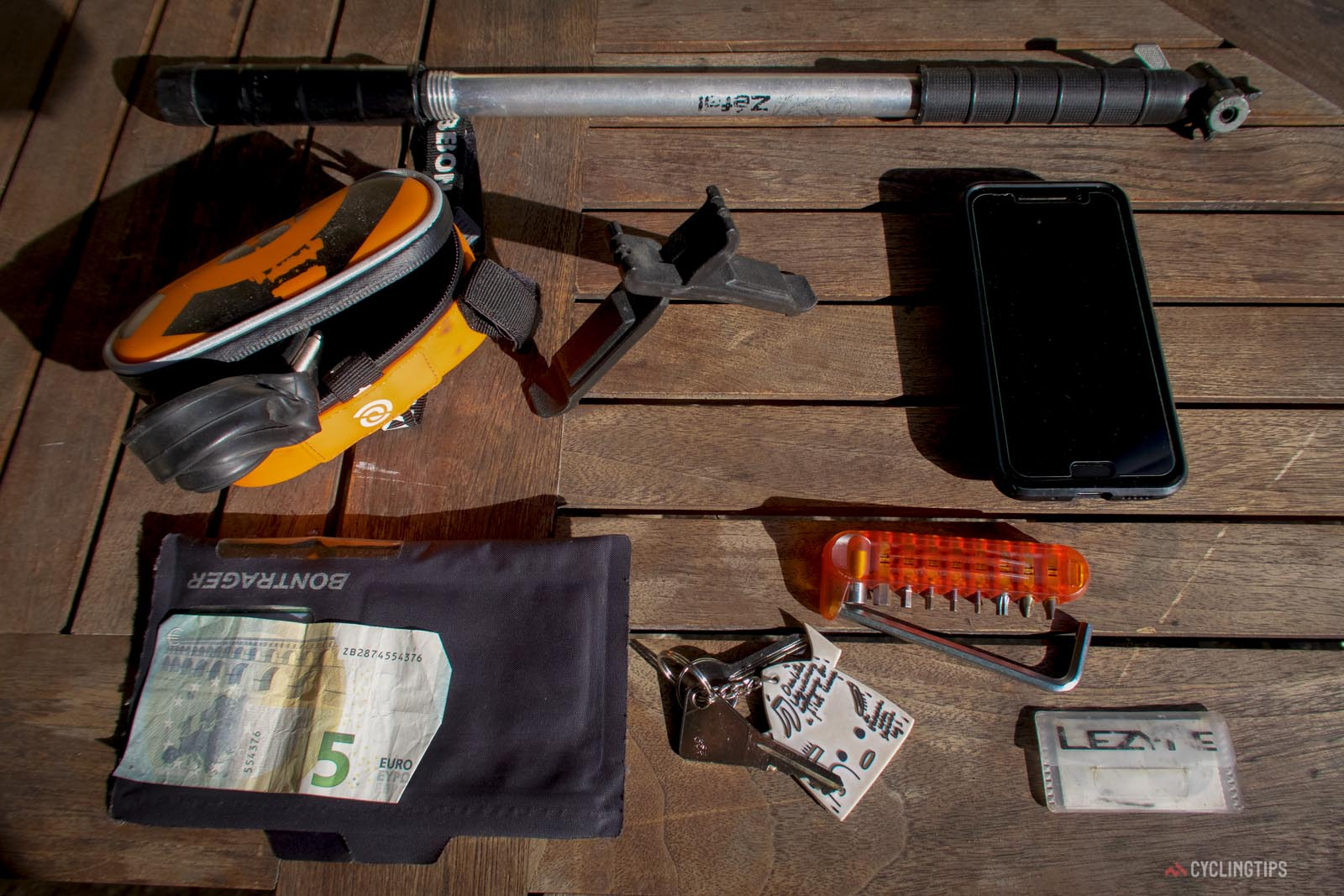 What Dave Everett carries