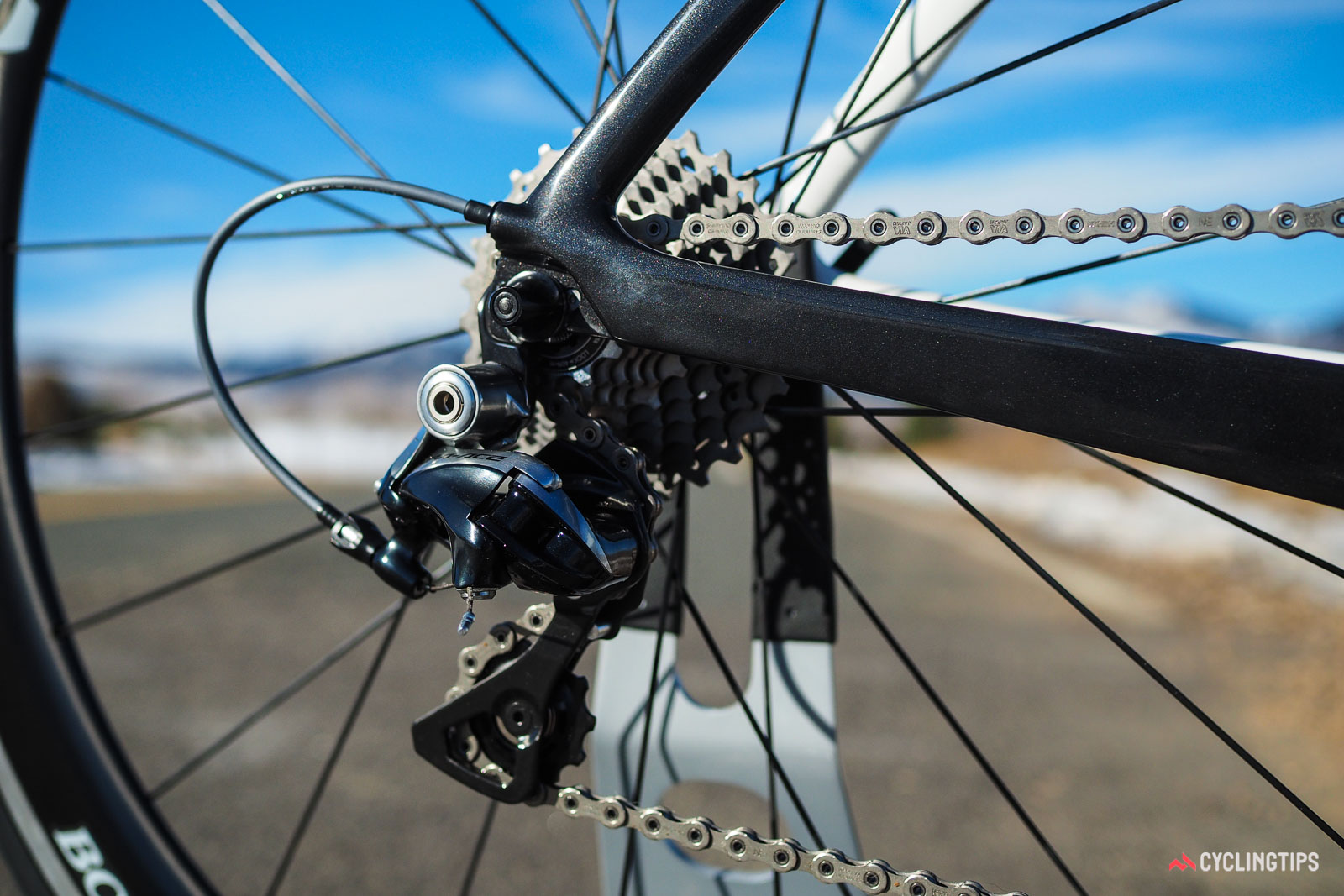 Trek Madone cable routing